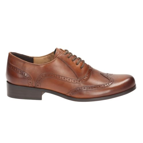 b3c375ef2c32 Bingo - Wide Fit. Tan Leather