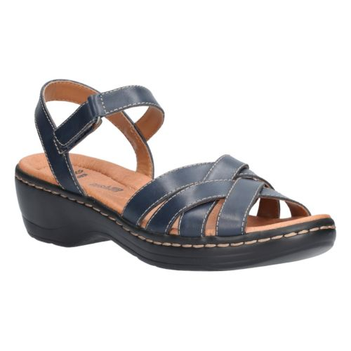 aace9fab539 Hayla Pier. Navy Leather
