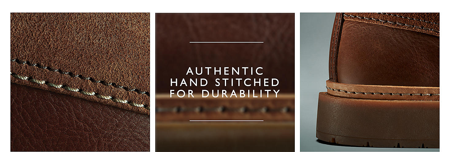 Authentic Hand Stiched For Durability