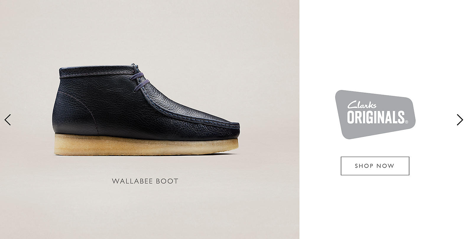 Shop Clarks Wallabee Boots