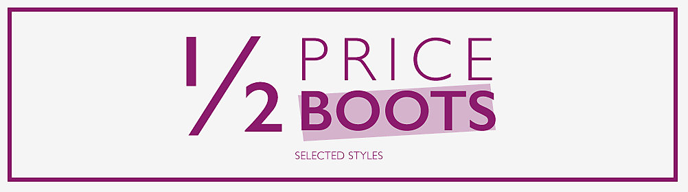 Half Price Womens and Mens Boots