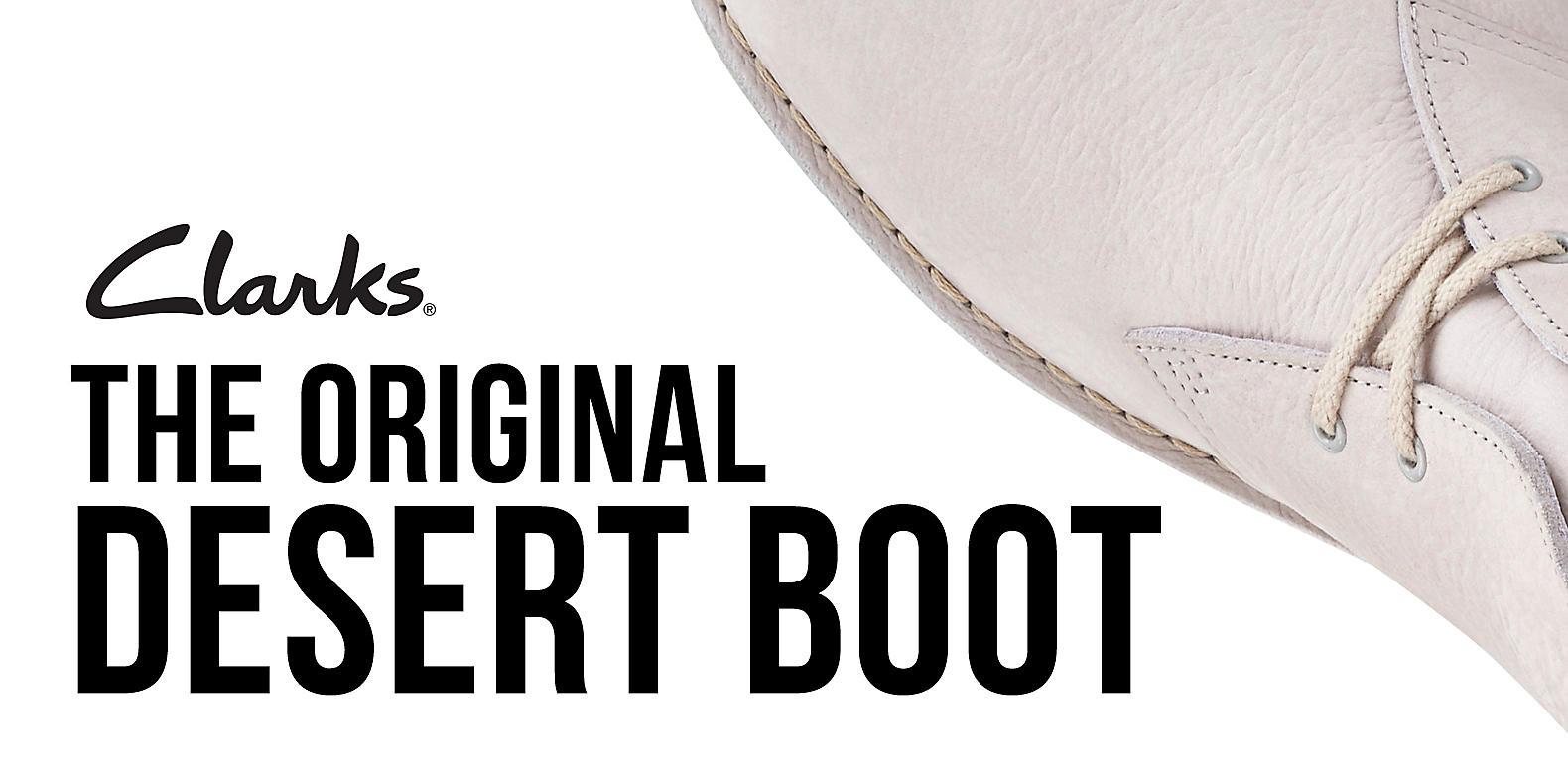 Clarks Desert clarks Originals Mens Brown Wallabees Boots 14nPqwxH7v